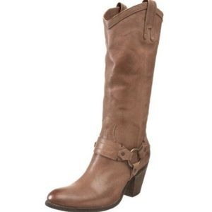 Frye Fawn Taylor Harness Tall Boots
